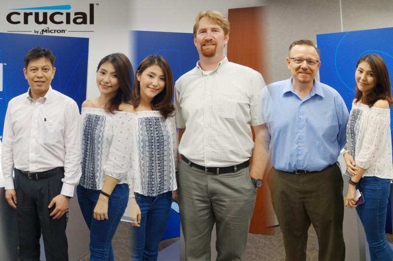 Crucial 美光 @ Computex 2015 台北國際電腦展 影音專訪