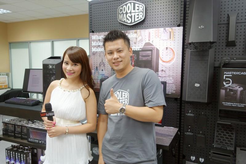 Cooler Master 酷碼科技 @  Computex 2015 台北國際電腦展 影音專訪