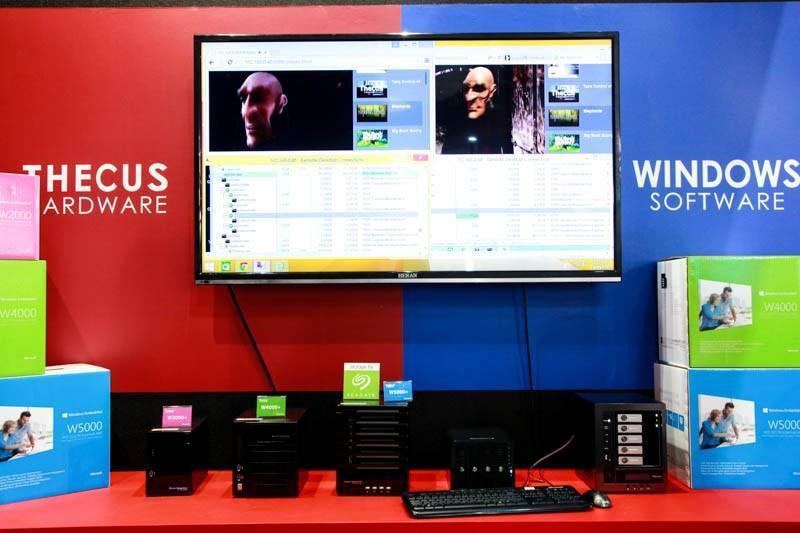 Thecus 宏普科技 Computex 2015 攤位資訊