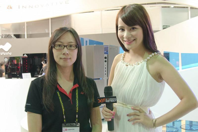 InWin 迎廣科技  x XFastest @ Computex Taipei 2015 台北國際電腦展 影音專訪