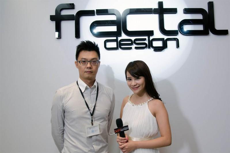 Fractal Design x XFastest @ Computex Taipei 2015 台北國際電腦展 影音專訪