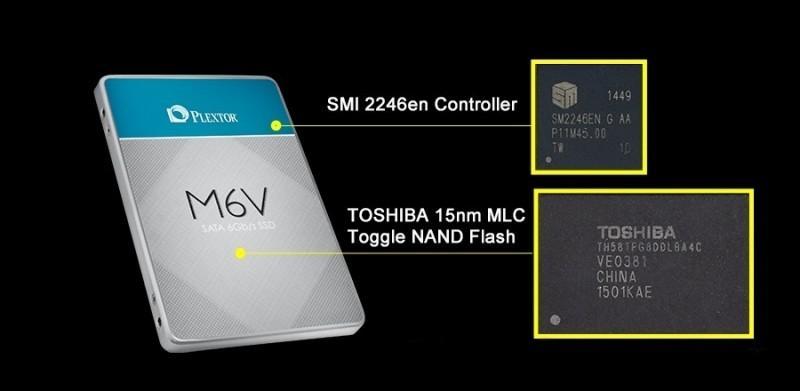PLEXTOR M6V固態硬碟大爆發!
