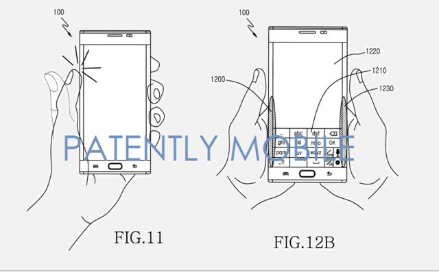 三星獲曲面螢幕新專利:支持背部觸控