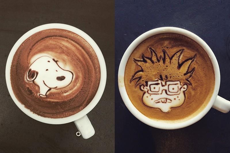 咖啡控的驚呼:這麼可愛怎麼捨得喝掉啊!