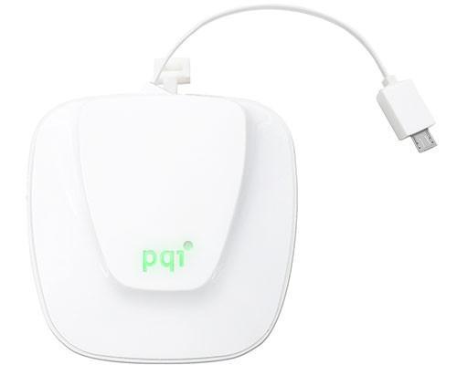 PQI Power 9000R蘋果造型行動電源 無需額外帶線出門 內建自動卷線器 充電伸縮自如
