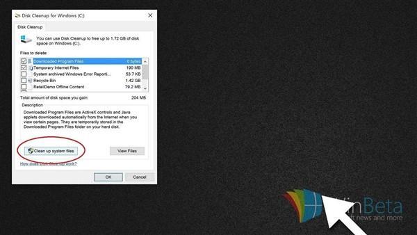 【轉】升級Win10後C槽告急:一招釋放硬碟空間