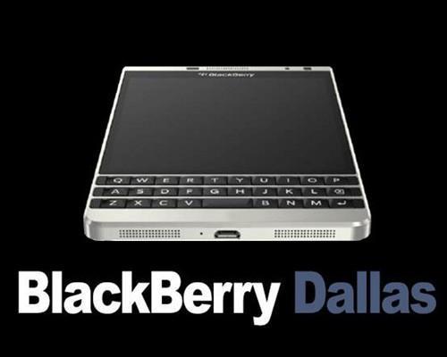 黑莓 Dallas實為Passport銀色特別版