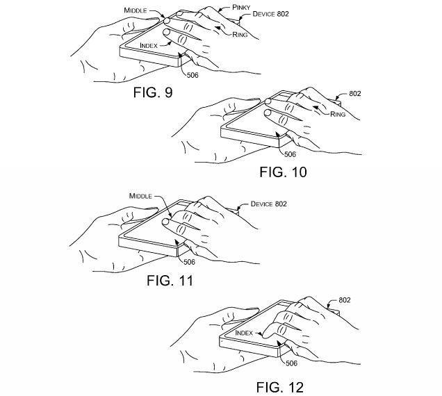 微軟新專利:用奇怪的手勢解鎖屏幕
