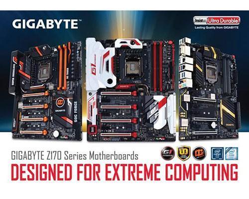 技嘉發表全新100系列主機板 完美釋放第6代Intel Core 處理器的最大效能