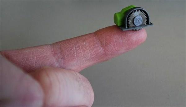 全球最小的電鋸問世:3D打印威力不小