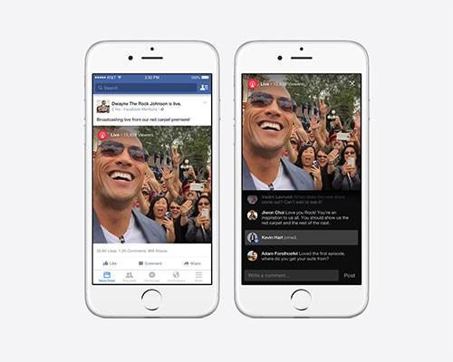 Facebook Mentions推出 Live即時影音新功能