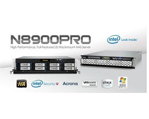Thecus色卡司將企業級NAS系列拓展至高性能的N8900PRO