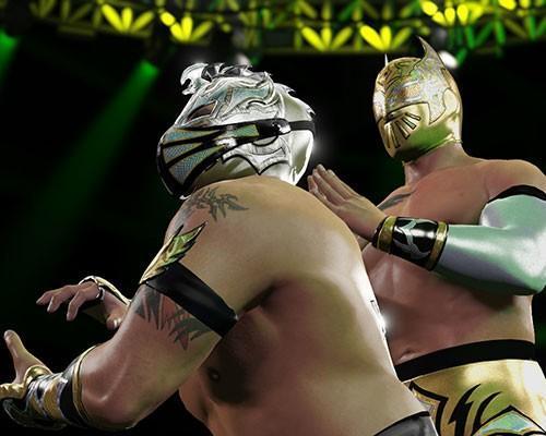 2K公布了適合狂歡的《WWE 2K16 》遊戲配樂