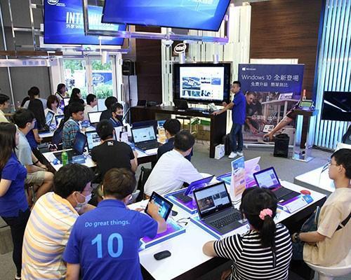 英特爾「Windows 10小學堂」@ Intel體驗店 體驗絕佳Intel效能完美呈現Windows 10的極致魅力