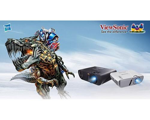 ViewSonic投影機與變形金剛再度攜手合作 打造今夏宇宙狂熱投影科幻大畫面!