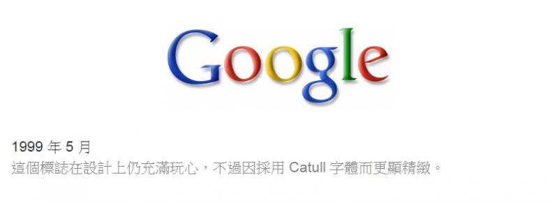 Google Logo改變,來看看Google歷年圖標吧