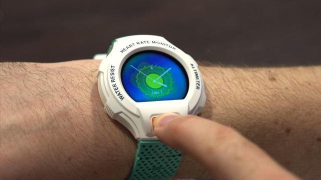 阿爾卡特Go Watch 能測量心情的智慧手錶