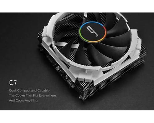 快睿科技CRYORIG公布新品C7散熱器