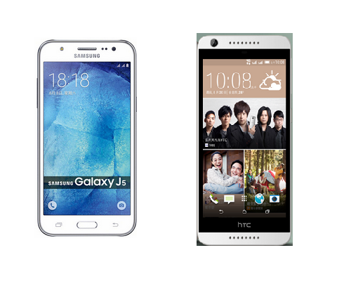 Samsung Galacy J5 V.S hTC Desire 626 5990元戰爭開打