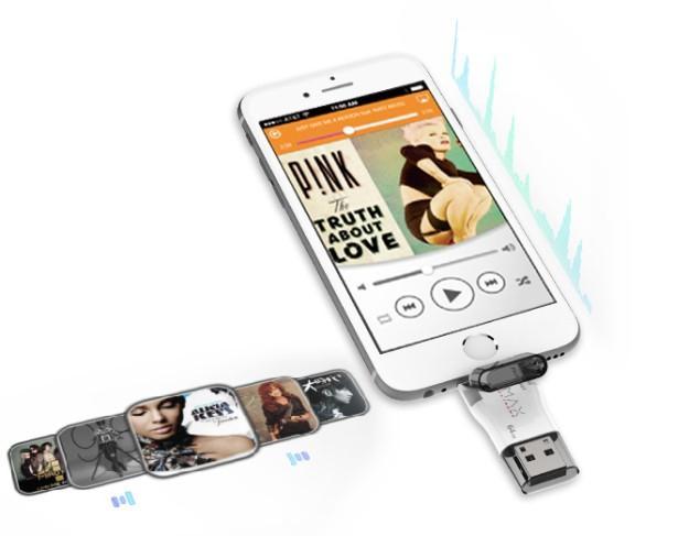 APPLE iPhone 16GB不夠用?那可以外接這款隨身碟