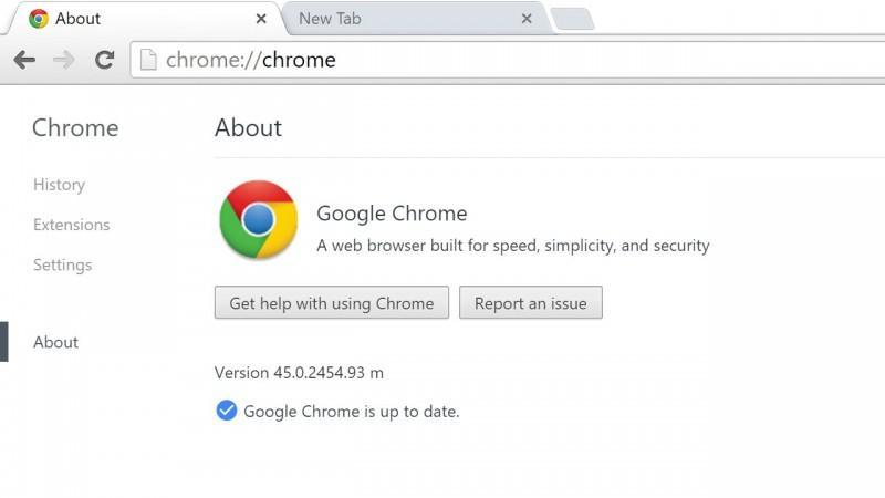 使Google chrome崩潰的方法