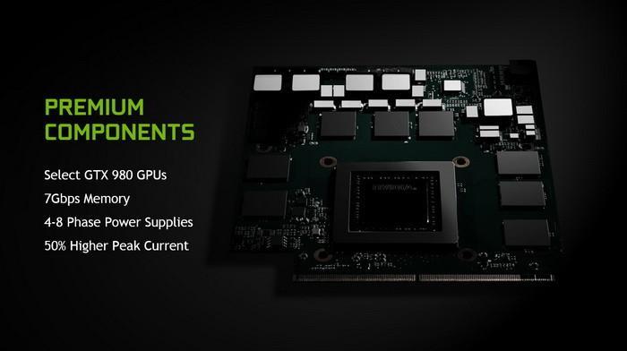 NVIDIA發表史上最強的筆電顯示卡-GTX 980 完整GM204核心、4-8相供電