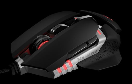 G.SKILL推出RIPJAWS MX780 模組化滑鼠