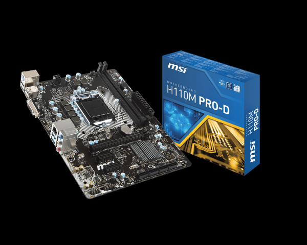 MSI 推出H110 Pro系列主機板