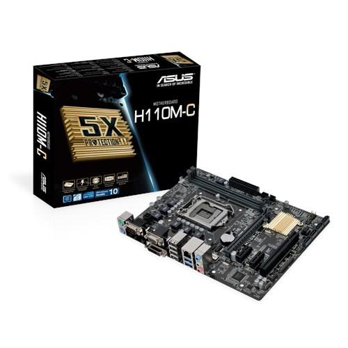 ASUS H110系列主機板上市,採用DDR3記憶體主機板數量多餘DDR4記憶體主機板