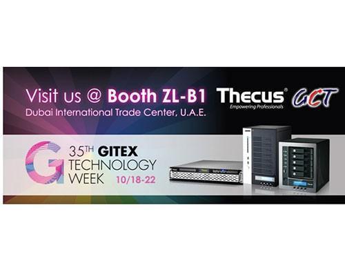 Thecus色卡司與GCT聯手參與2015 Gitex