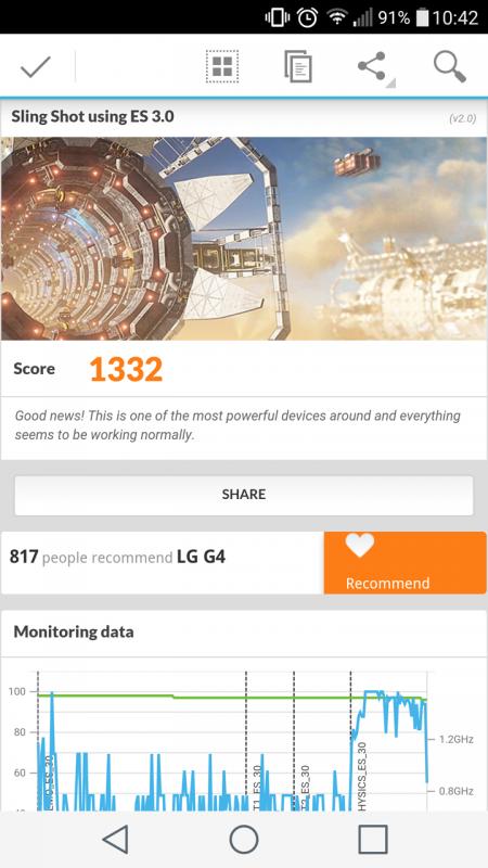 3DMark Sling Shot測試軟體,可跨平台基準測試,讓你了解不同手機的效能