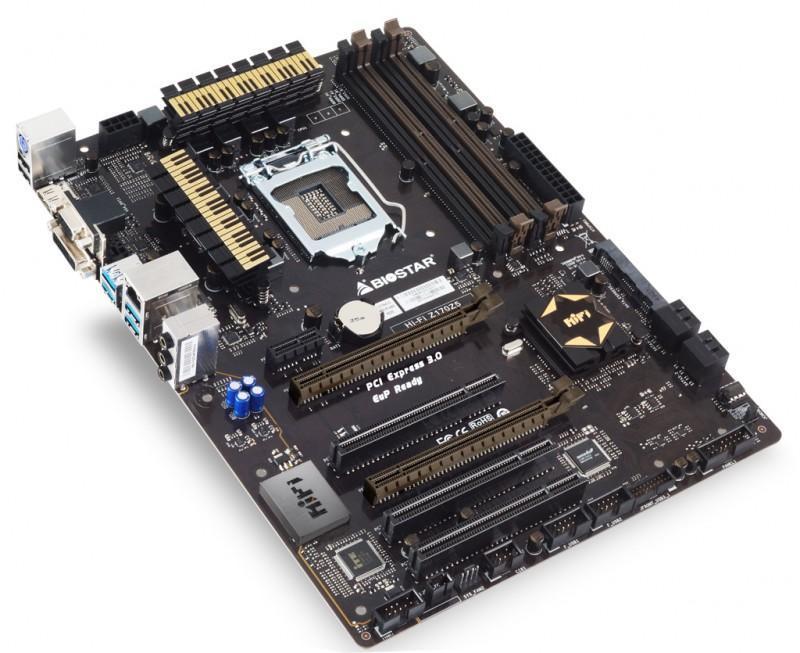 BIOSTAR Hi-Fi Z170Z5 combo主機板現身,支援DDR4+DDR3L