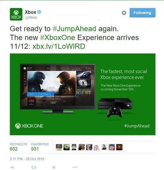 準備好沒?Xbox One版Win10在11月12日推送