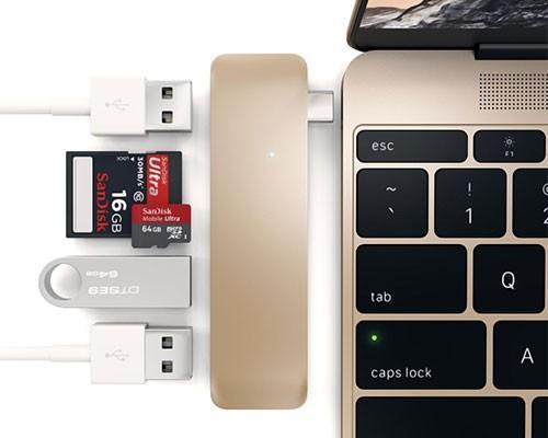 買了 New Macbook 卻煩惱只有一個 USB Type C 孔?你需要這個來擴充你的外接裝置