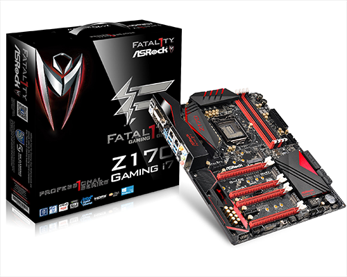 3組Ultra M.2撐暴頻寬吧! 華擎新秀Fatal1ty Z170 Professional Gaming i7