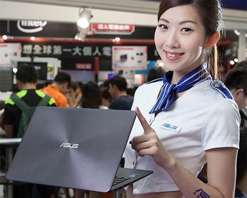 華碩筆電報雙喜 8、9月台灣市佔創新高