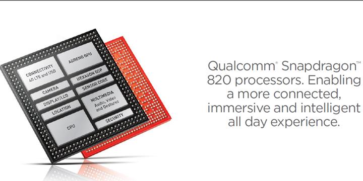 高通正式發表Snapdragon 820 64位元KRYO架構處理器