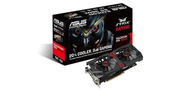 AUSU推出STRIX R9 380X 4G GAMING顯示卡