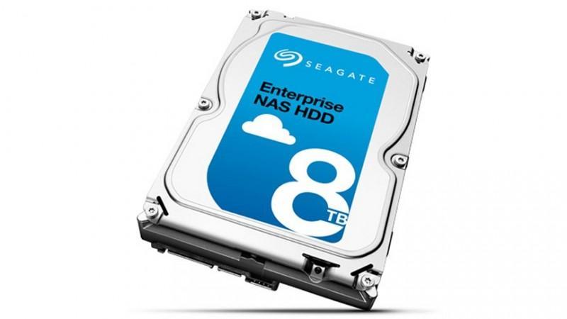 Seagate Enterprise NAS 8TB日本上架 快取提升至256MB