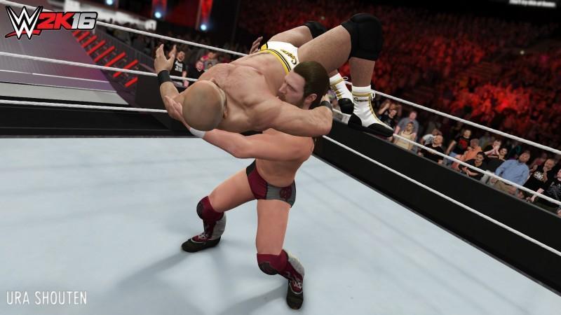 《WWE 2K16》新招式包可下載內容現已推出