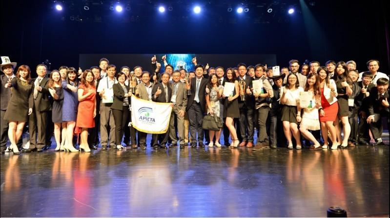 2015亞太資通訊大獎(APICTA Awards)揭曉 台灣奪得四金,成績勇冠各國
