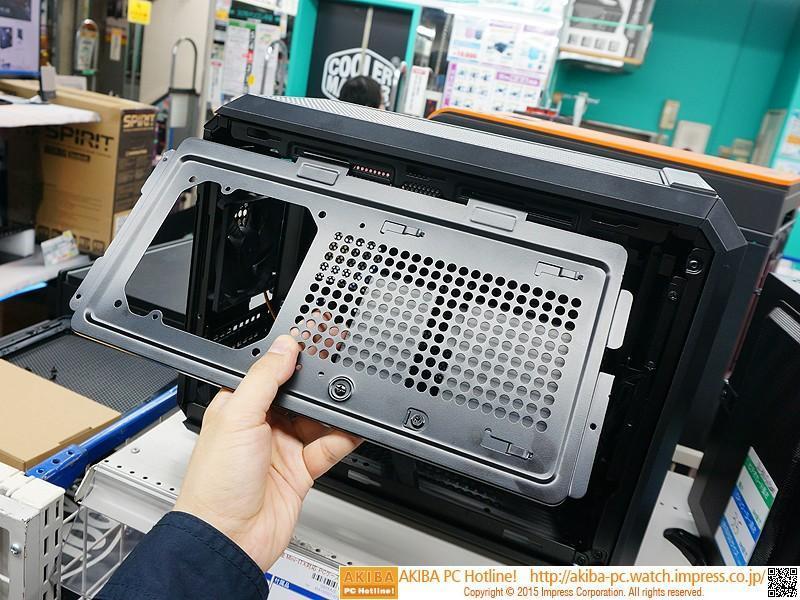 可裝35cm長卡的mini-ITX新品「Cougar QBX KAZE」秋葉原開賣 約2700元