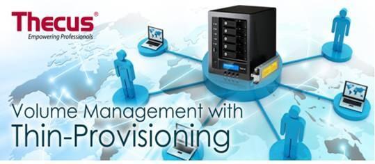 如何透過Thin Provisioning(隨需配置)來最優化分配您的儲存裝置呢?
