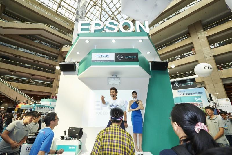 Epson資訊月熱力開跑!有氧天王駕到Epson心率有氧教練99元「戴」回家