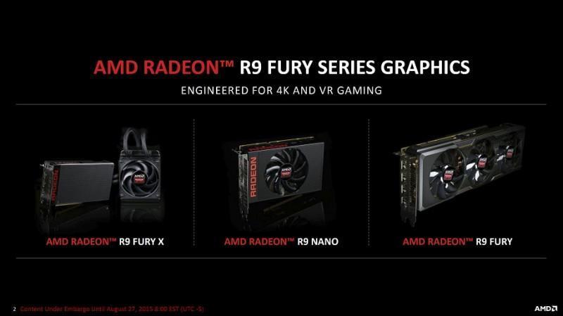 AMD Radeon R9 Fury X2最快明年3月推出