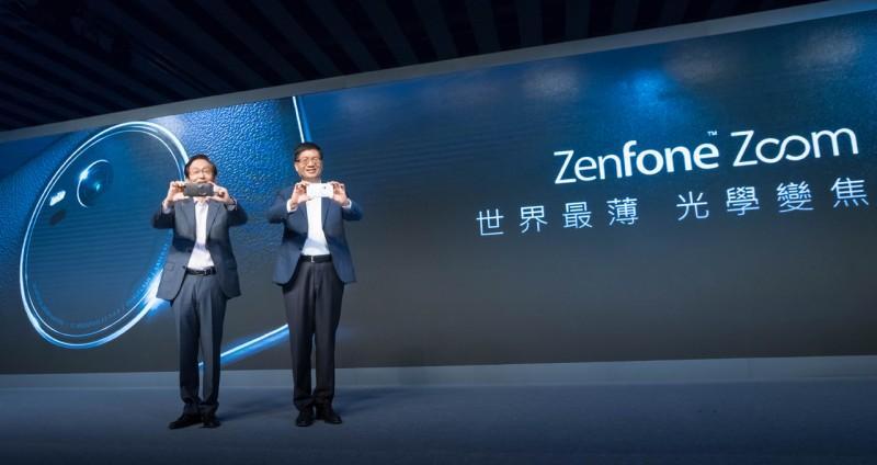 相機掰掰! 世界最薄3倍光學變焦智慧手機「ZenFone Zoom」全球首賣!