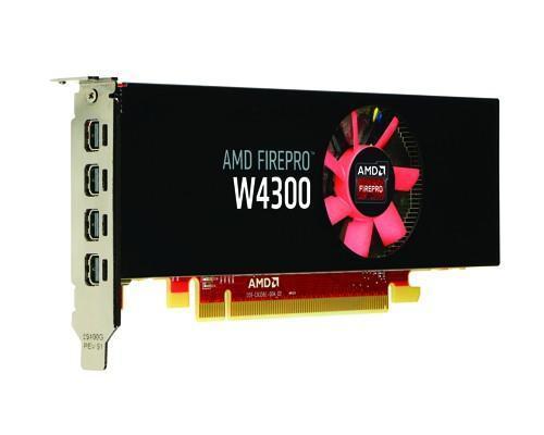 AMD推出CAD應用設計的窄版FirePro W4300專業繪圖卡,讓你打造小主機工作站