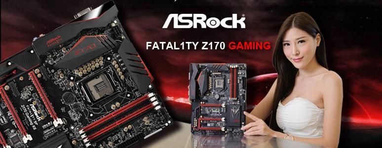 ASROCK FATAL1TY Z170 GAMING K6主機板採超合金設計,電競遊戲主機新選擇