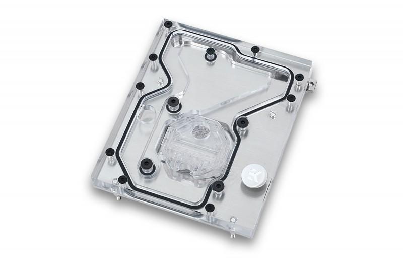 EK推出ASUS X99主機板CPU專用一體式水冷頭