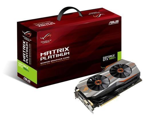 華碩ROG Matrix GTX 980 Ti顯示卡上市 剽悍超頻 戰無不勝!還送你ROG x ahq聯名限量背包
